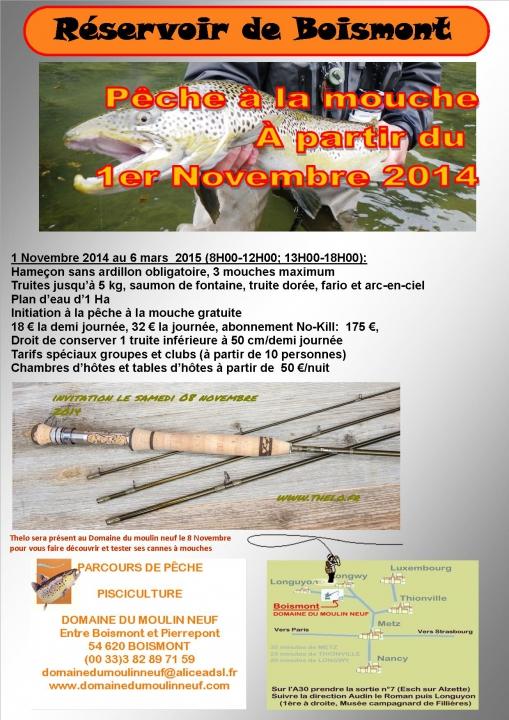 ouverture pêche à la mouche 2014